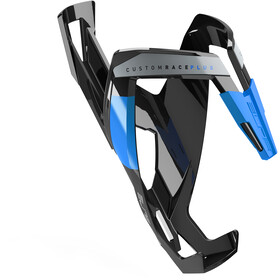 Elite Custom Race Plus Uchwyt na bidon, black/glossy blue